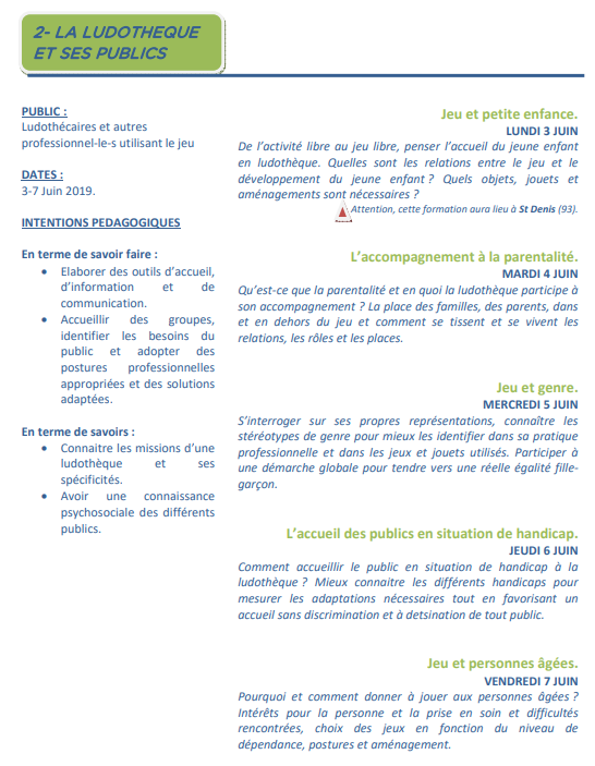 http://www.kananas.com/associationdesludothequesfrancaises/les-formations-continues/