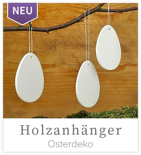 NEU Holzanhänger - Eier