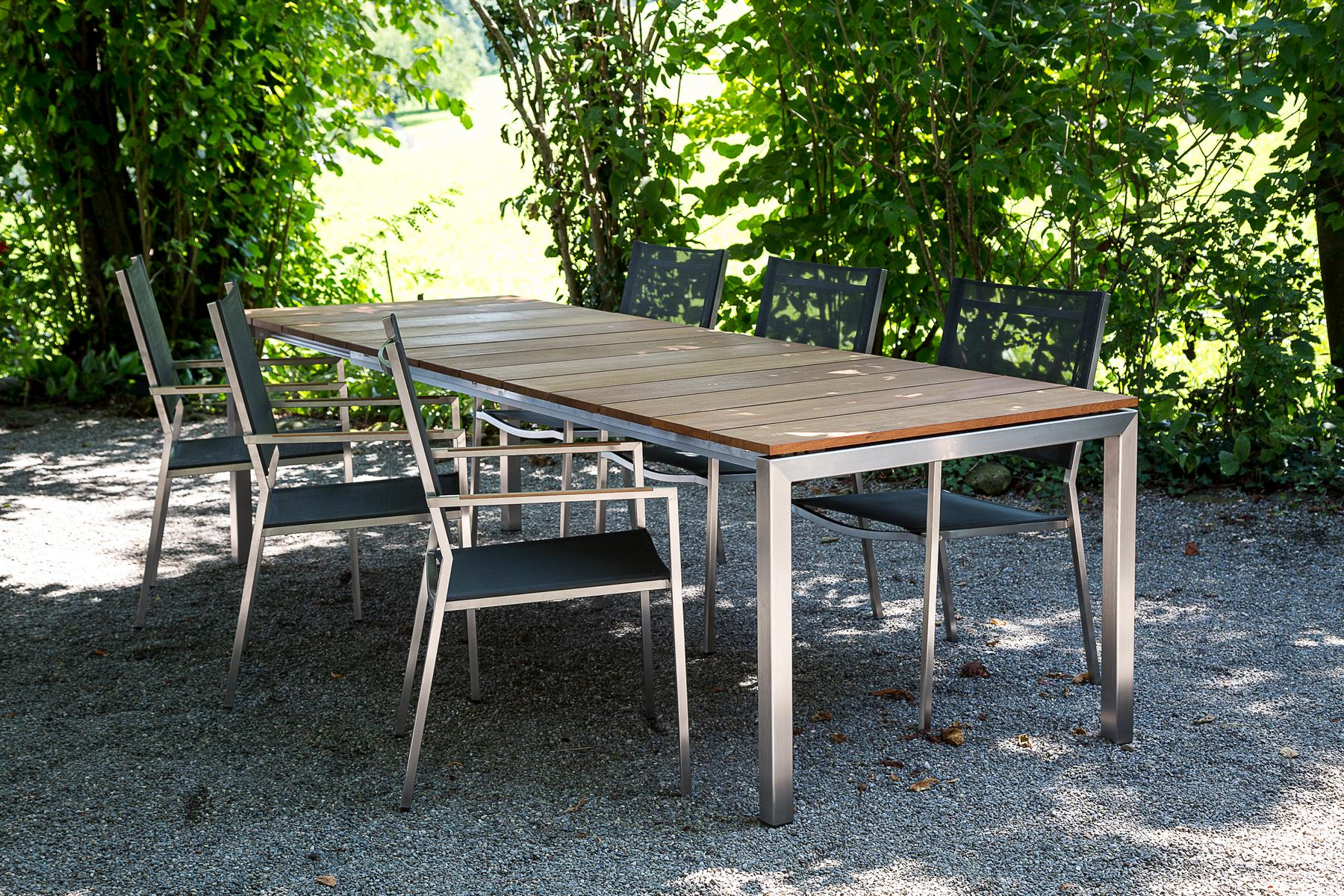 Auszugtisch Taro Teak Holz