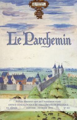 """Bulletin """"Le Parchemin"""" édité par l'OGHB"""
