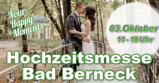 Hochzeitsmesse Bad Berneck - wir sind dabei!