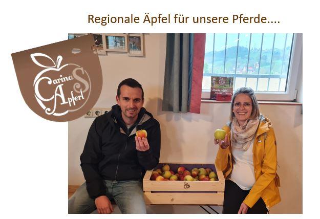 Regionale Äpfel für unsere Pferde