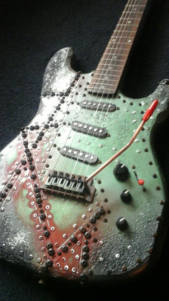 Mika Custom Dieselpunk Guitar