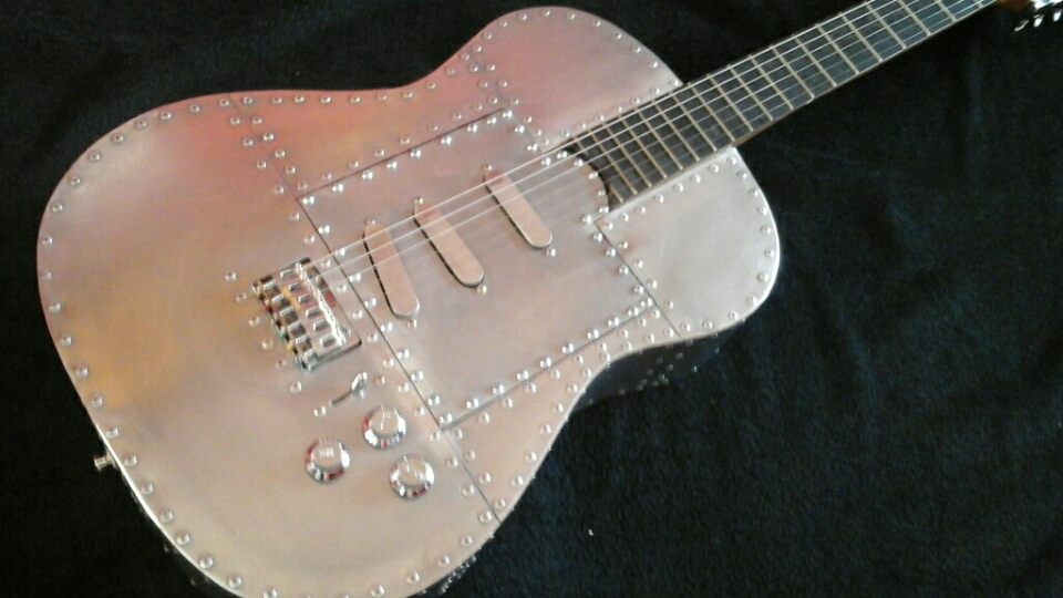 Mika Custom Airplane Guitar