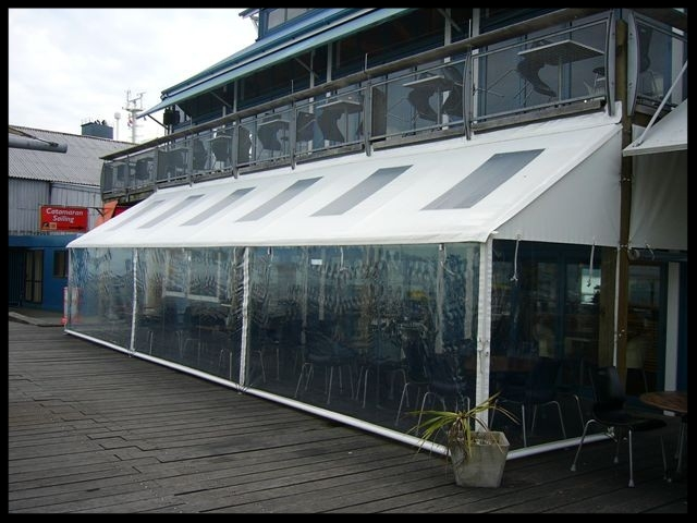 Clear Cafe Blinds, Port Nelson