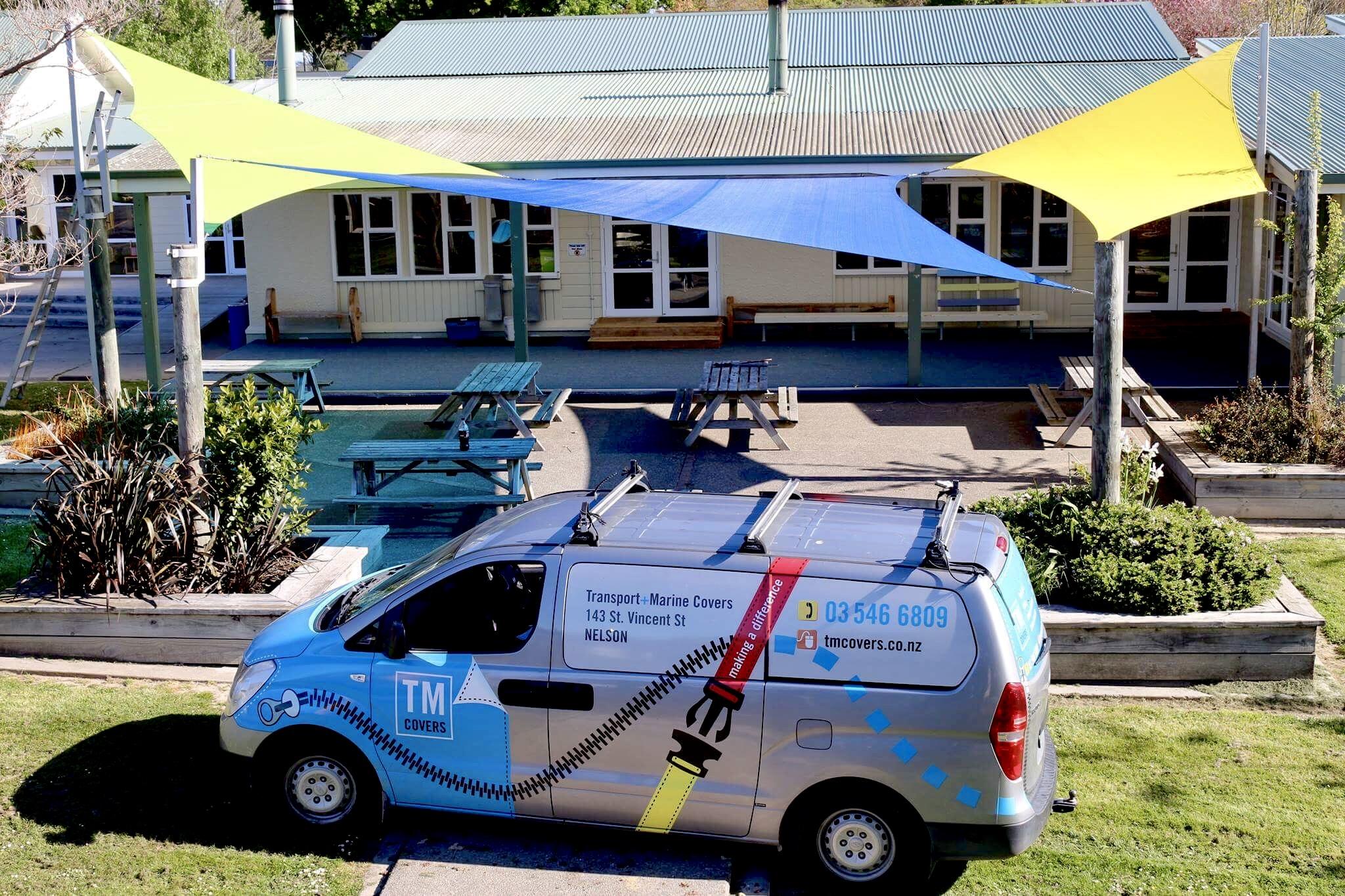 Tasman School Shade