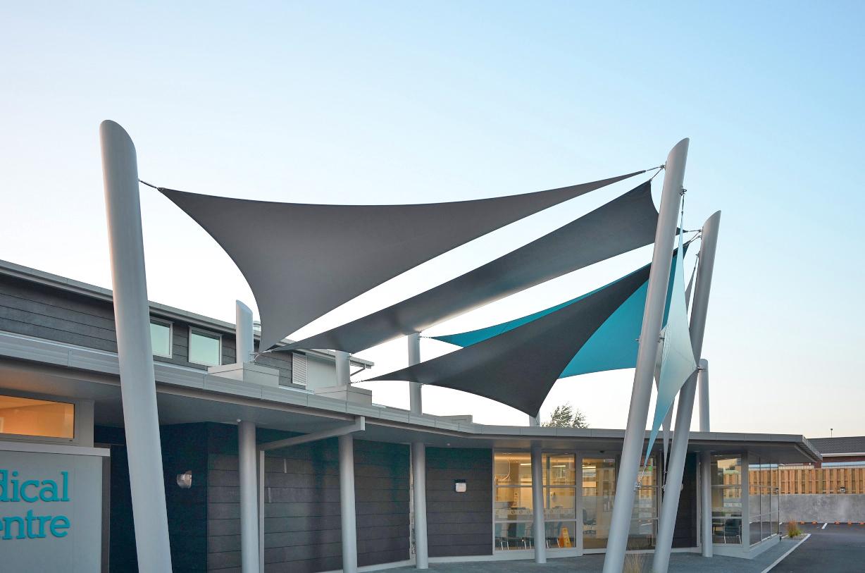 Medical Centre Entrance Sails, Ashburton