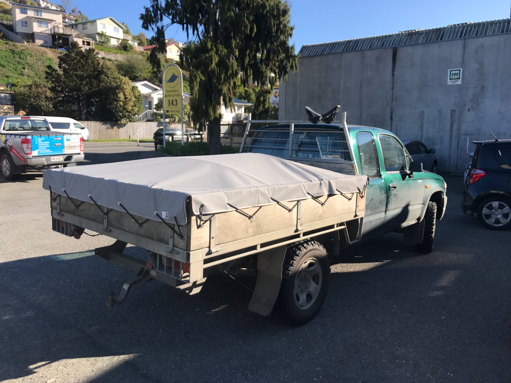 Farm Ute Canvas Cover