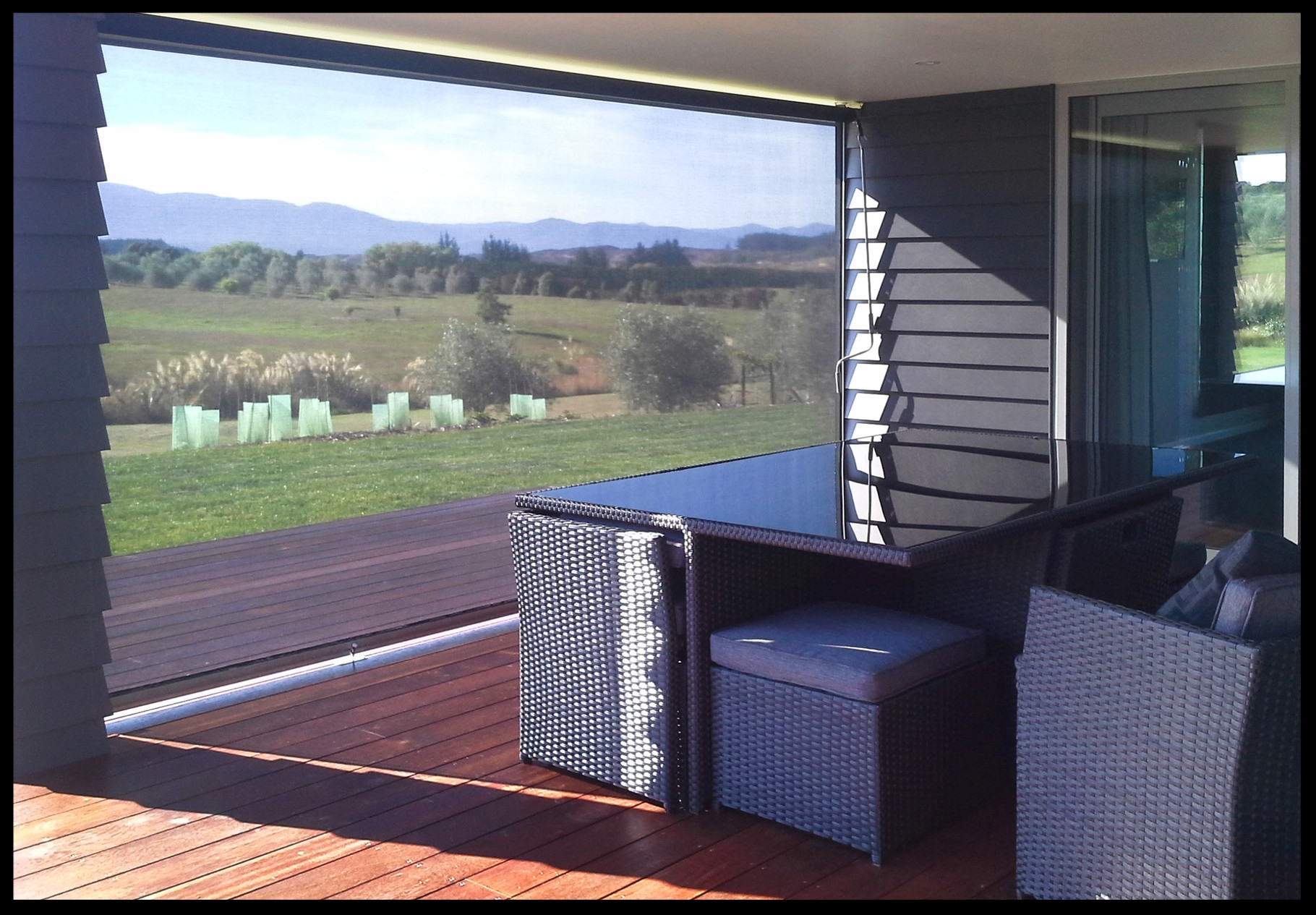 Mesh Patio Screens, Moutere, Nelson