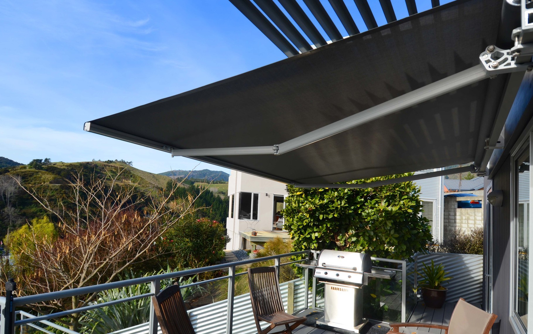 Franciaflex Horizon Retractable Awning, Nelson, New Zealand