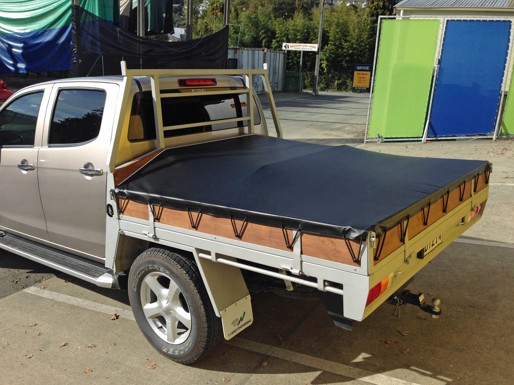 Great Wall Flatbed Ute Cover