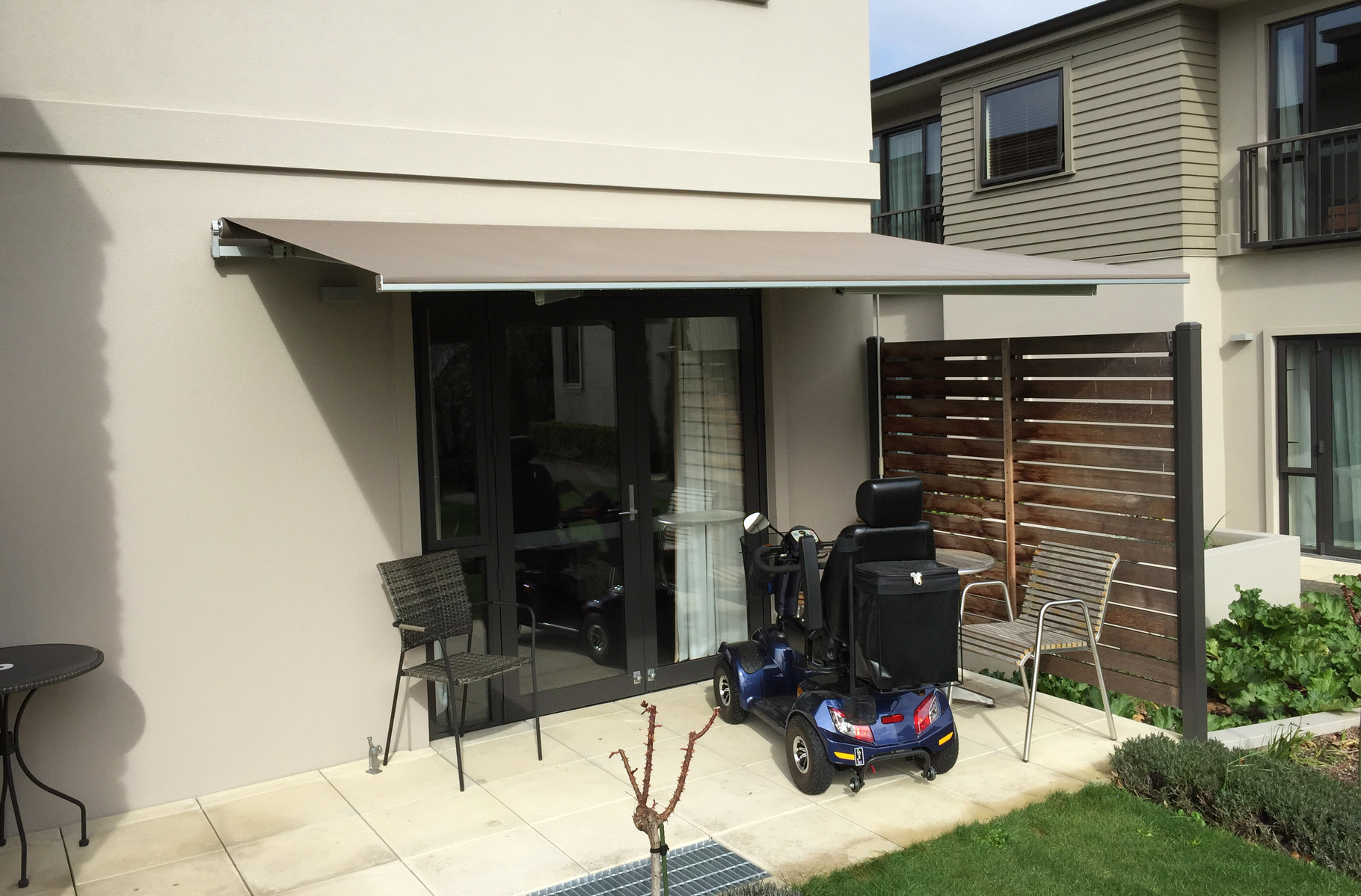 Franciaflex Horizon Retractable Awning, Blenheim, New Zealand