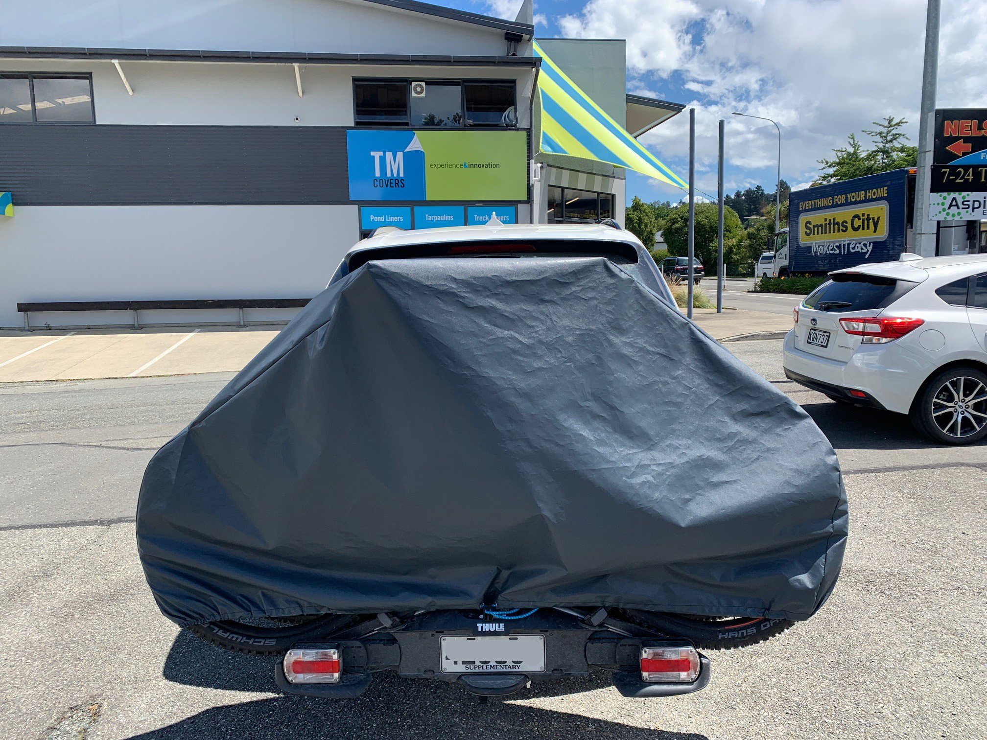 Double Ebike cover