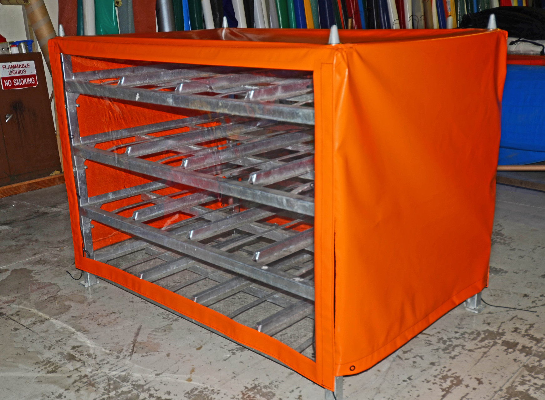 Product Rack Covers, Nelson, New Zealand