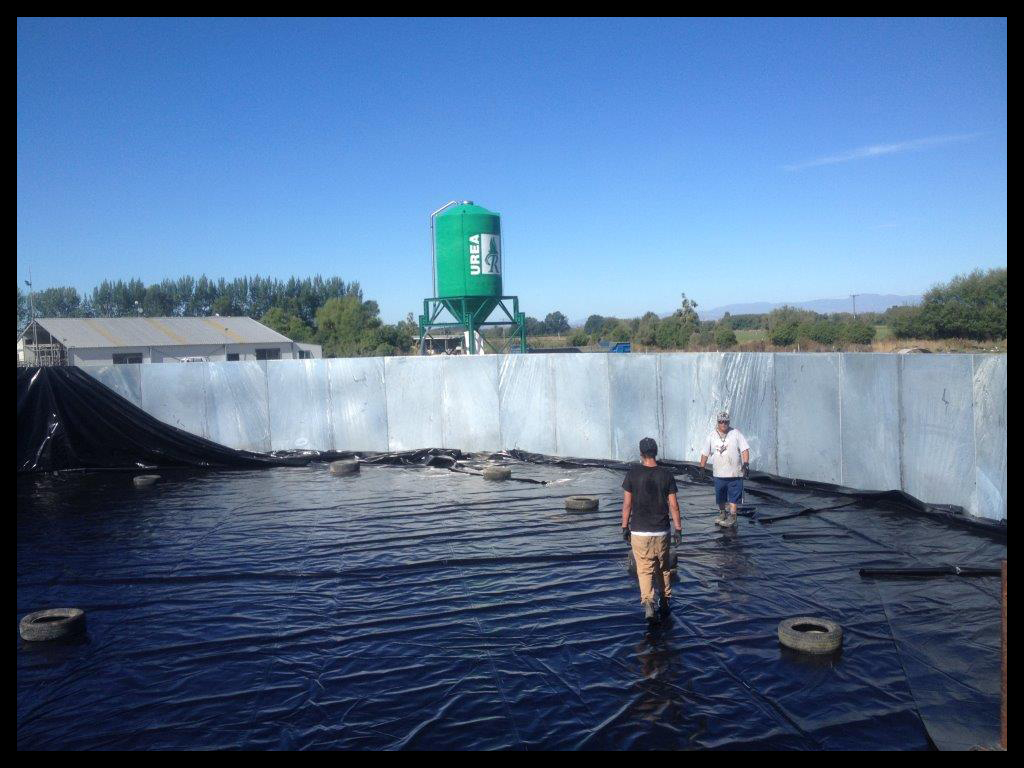 Effluent Tank Liner - South Canterbury