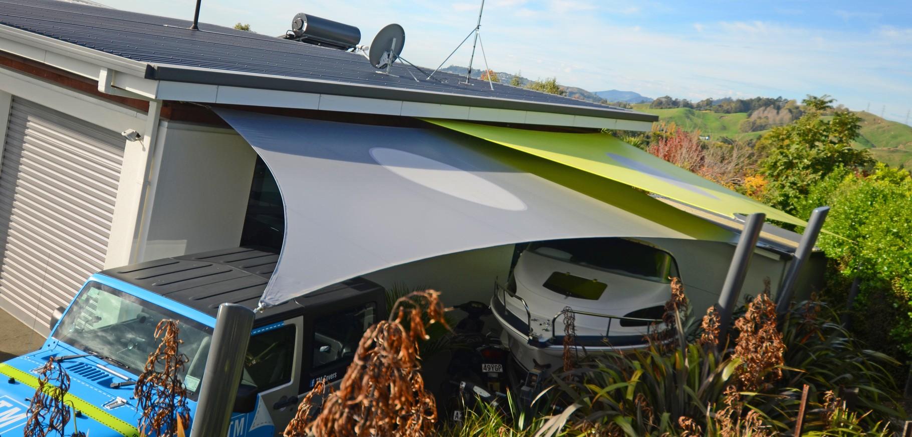 Shade Sails, Richmond, Nelson, New Zealand