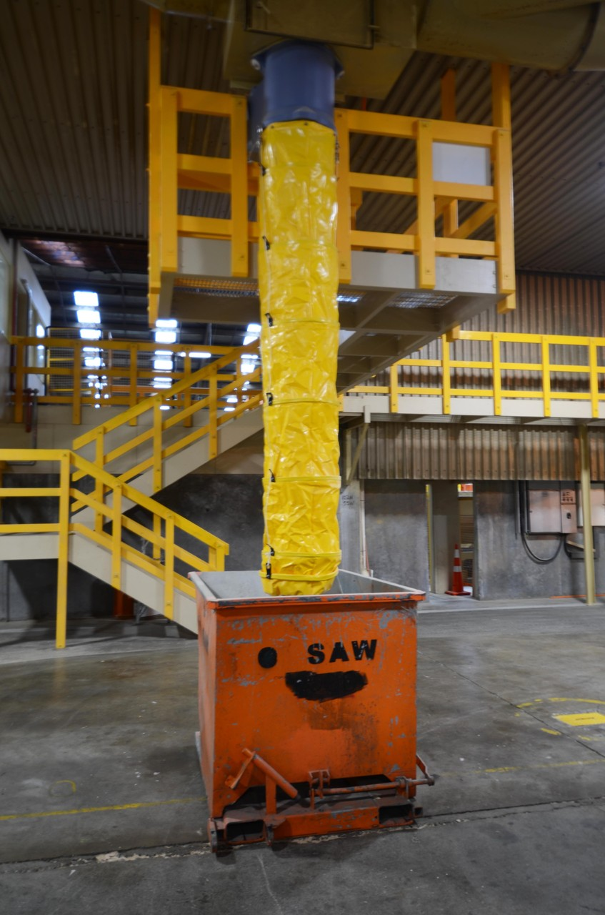 Industrial Waste Chute, Nelson, New Zealand