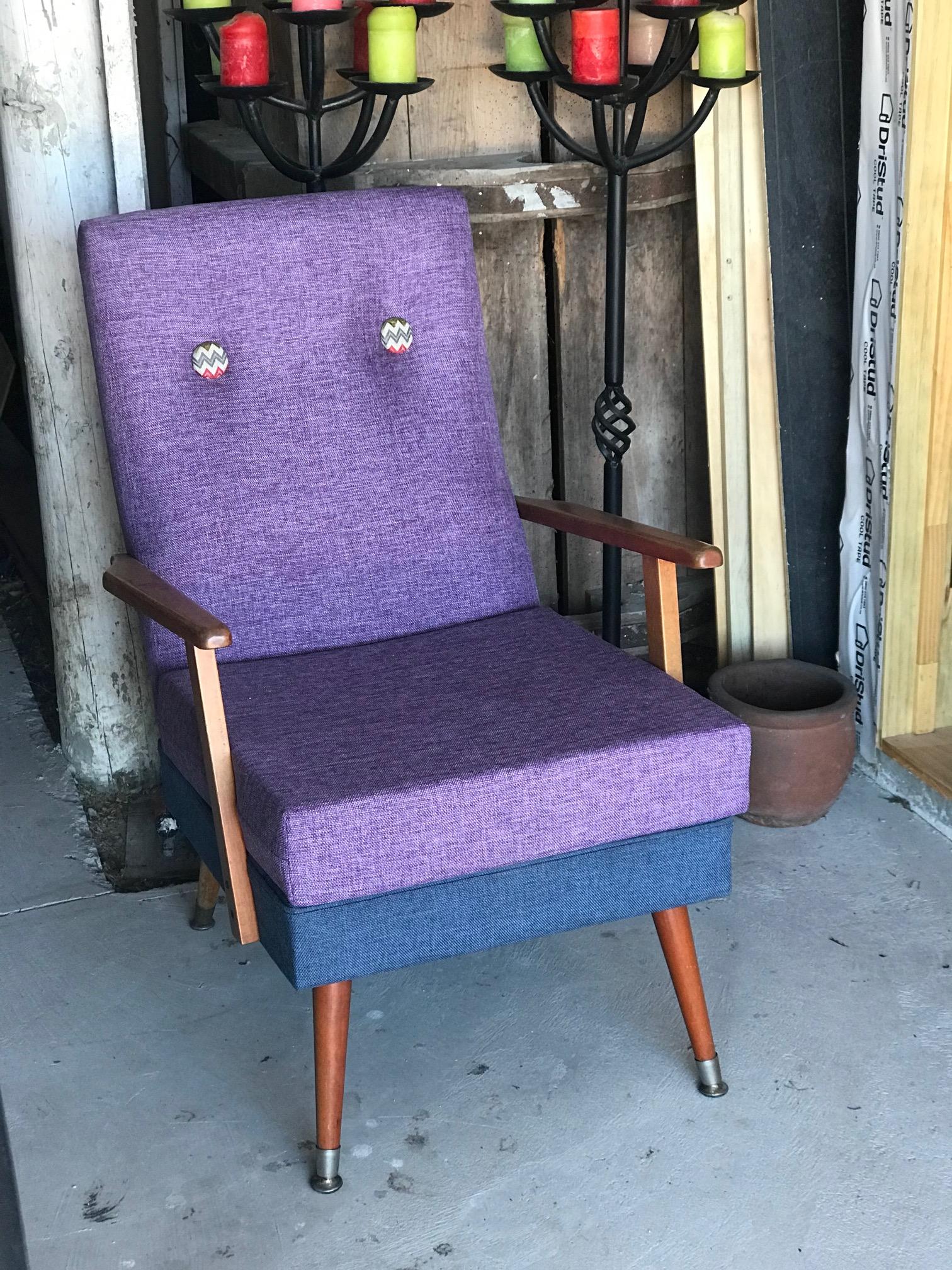 Retro reupholster