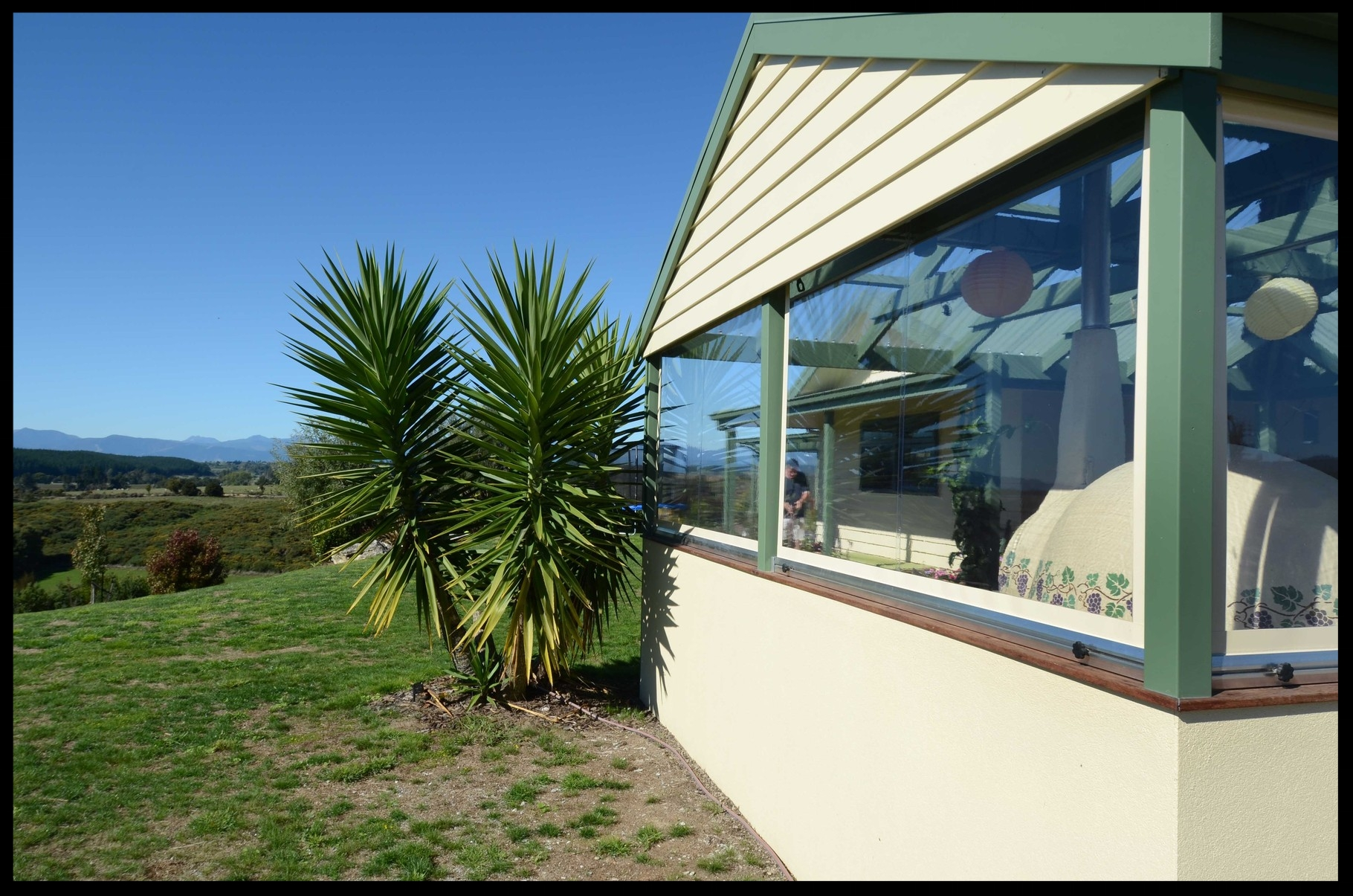 Clear PVC Screens, Upper Moutere, Nelson