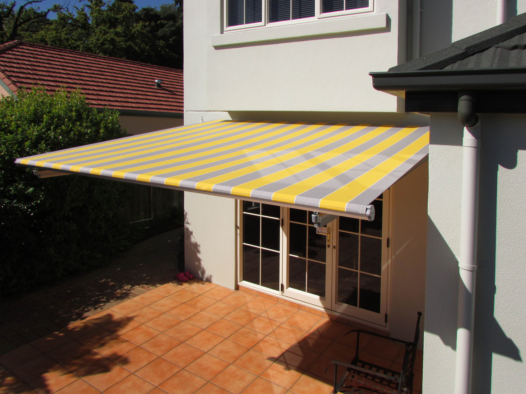 Sunbara Retractable Awning, Nelson, New Zealand