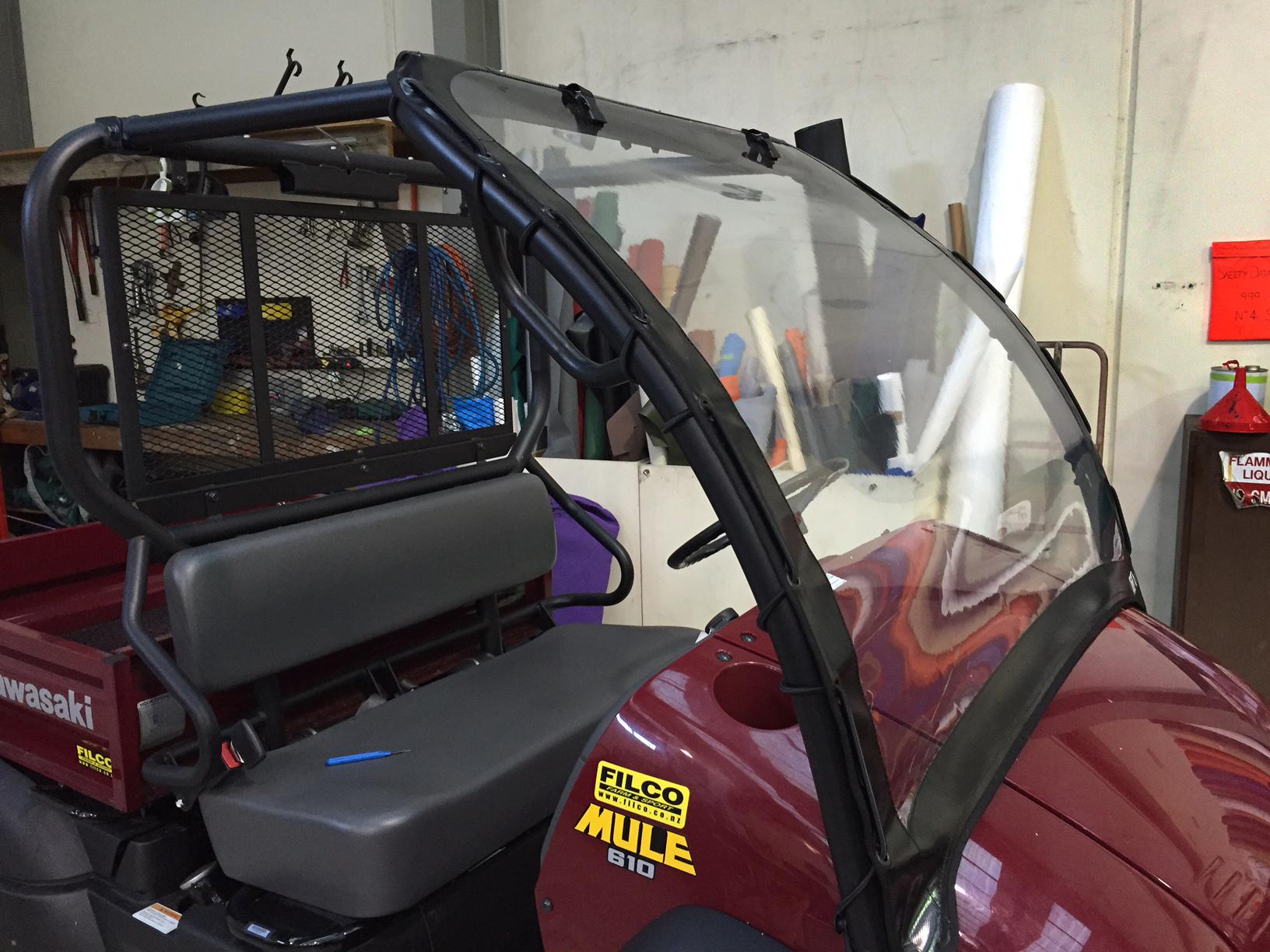 ATV Windscreen