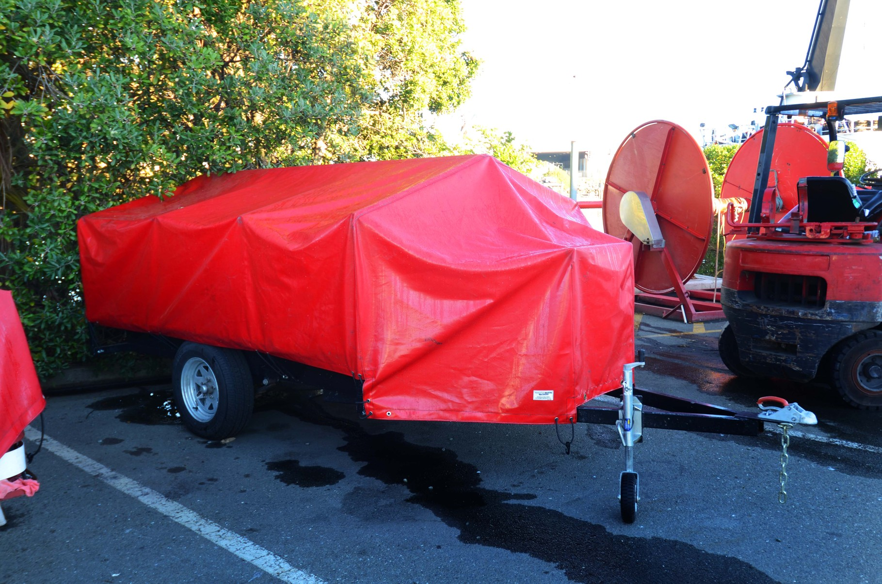 Fire Fighting Trailer Cover