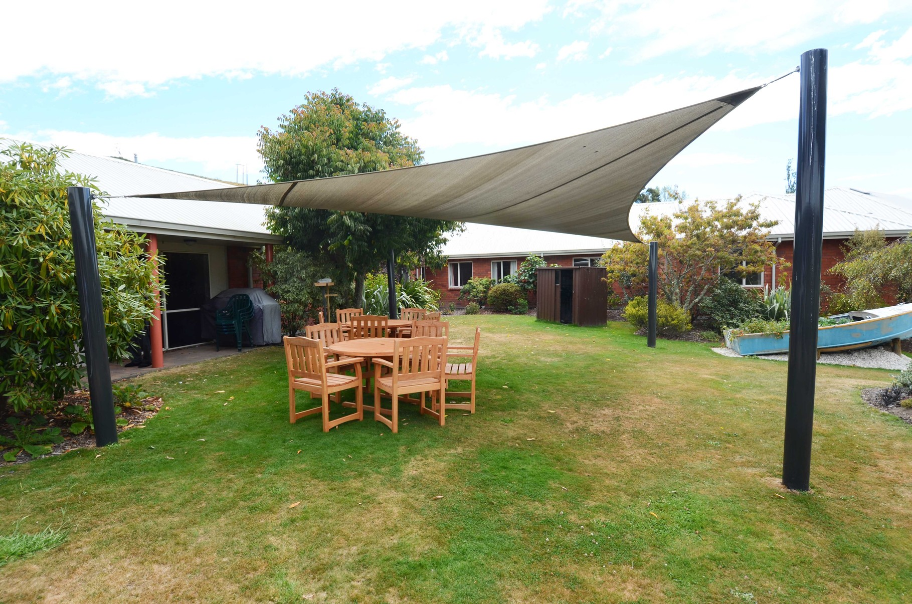 Shade Sail, Bishopdale, Nelson, New Zealand