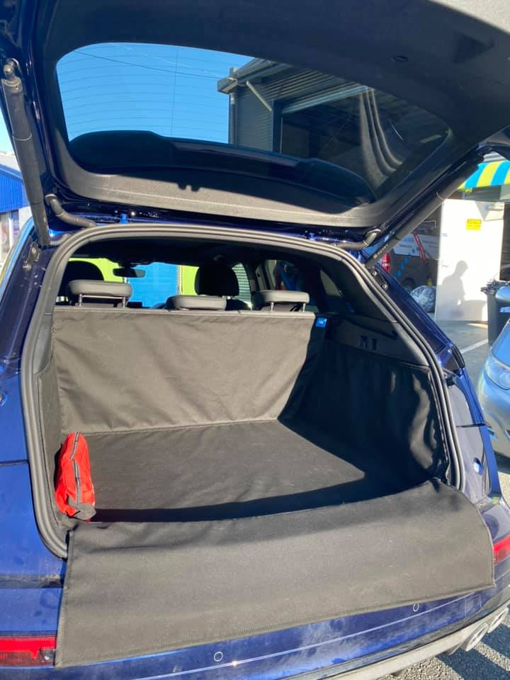 Car Boot Cover with Velcro for First Aid Kit