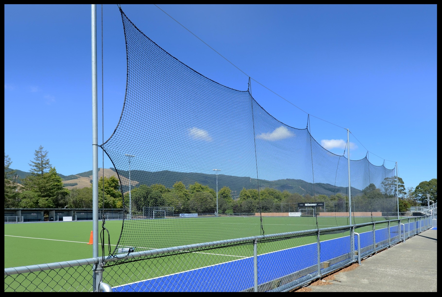 Hockey Side Nets, Saxton Hockey Turf, Nelson