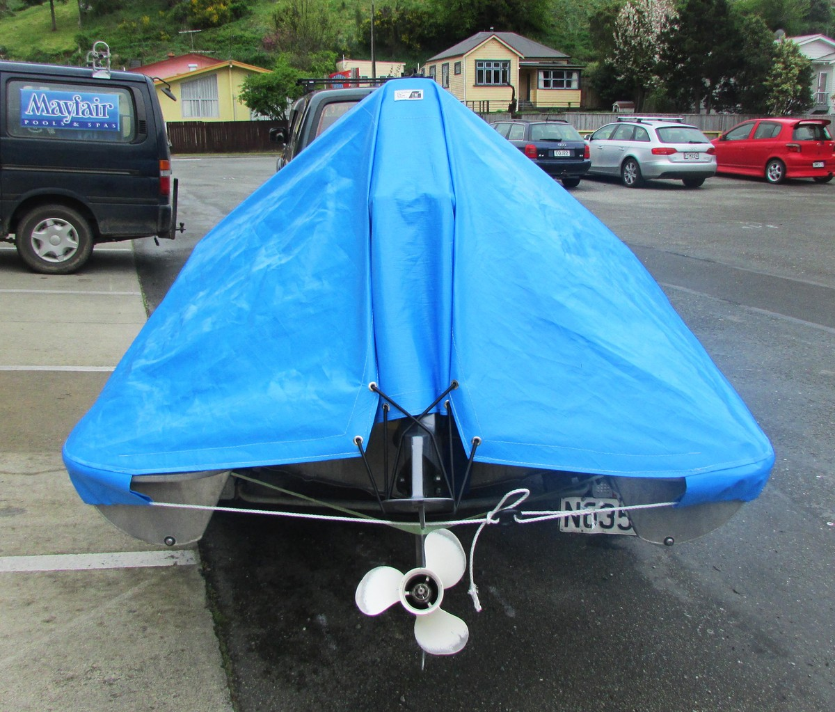 Boat Storage Cover, Nelson, New Zealand