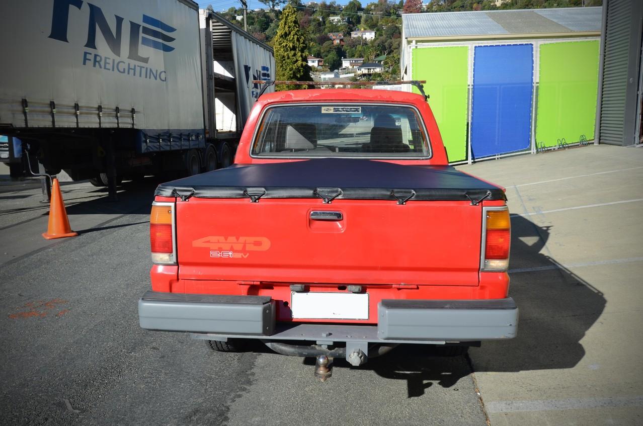 Ford Courier Ute Tonneau