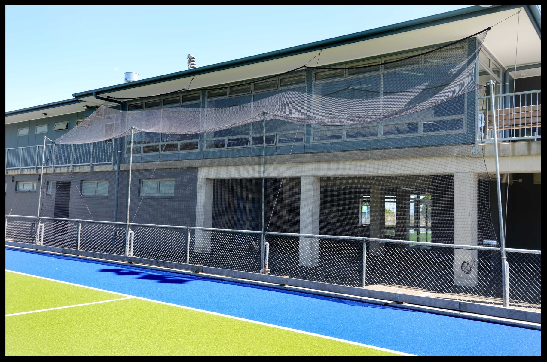 Hockey Nets, Saxton Hockey Turf, Nelson