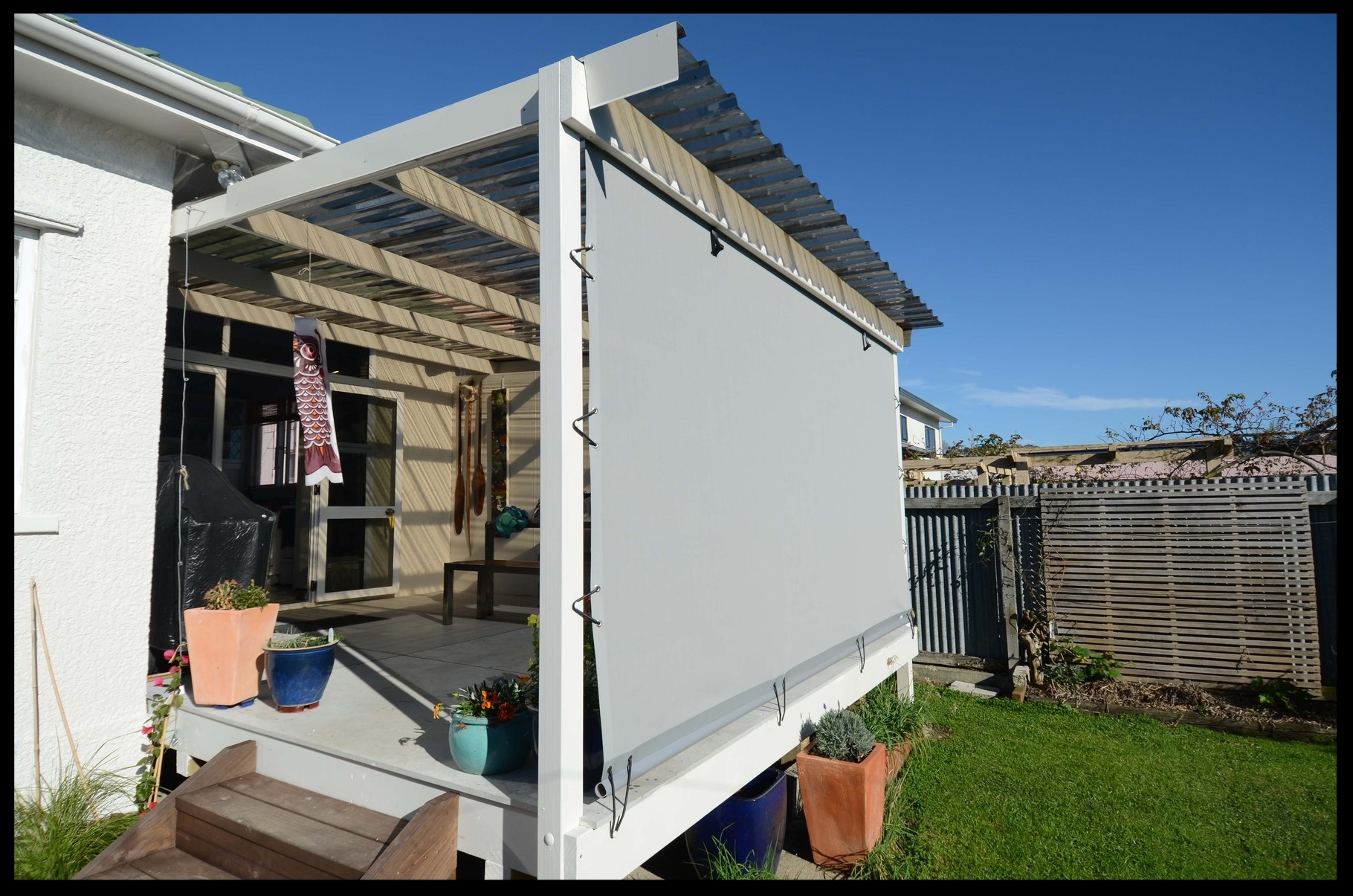 Mesh Patio Screen, Nelson, New Zealand