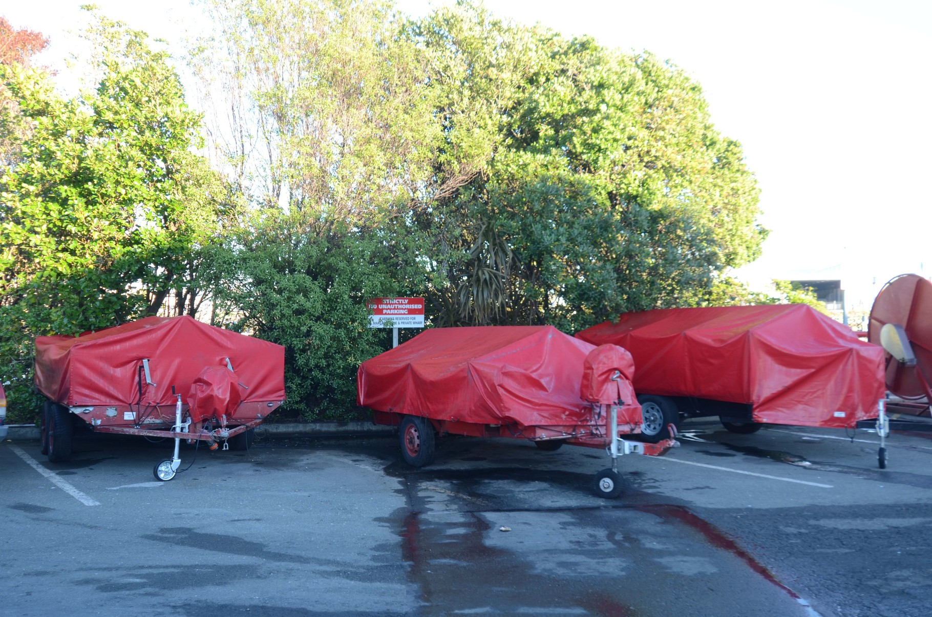 Oil Spill Recovery Trailers