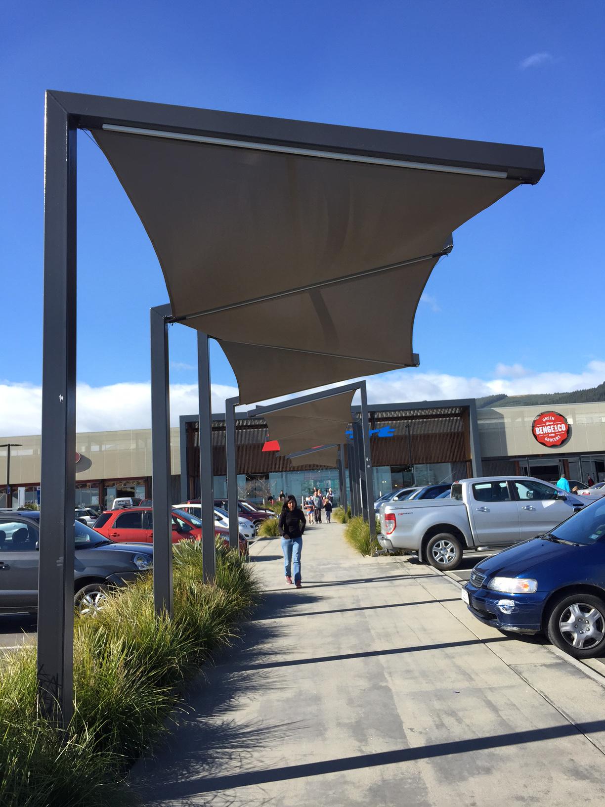 Richmond Mall Carpark Shade