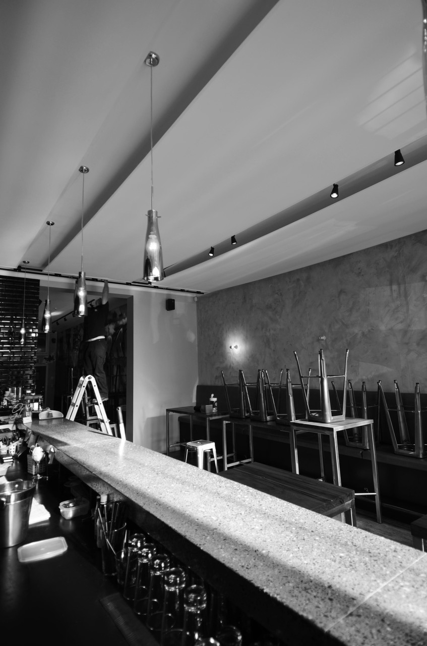 Acoustic Panels - Urban Oyster Bar & Eatery