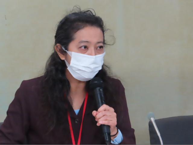 松藤美香さん(全国子宮頸がんワクチン被害者連絡会代表)