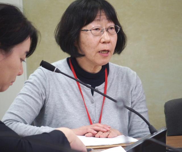 全国薬害被害者団体連絡協議会(薬被連)の浅川身奈栄さん
