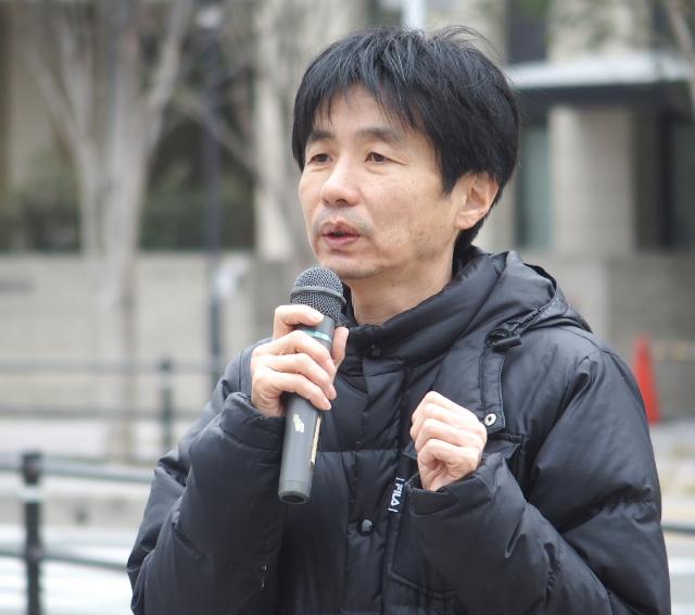 HPVワクチン薬害訴訟を支える会九州の猿渡圭一郎共同代表