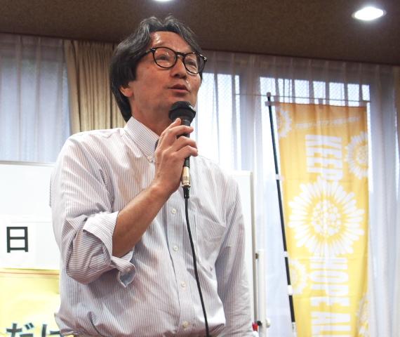 HPVワクチン名古屋訴訟支援ネットワークの長南謙一代表世話人