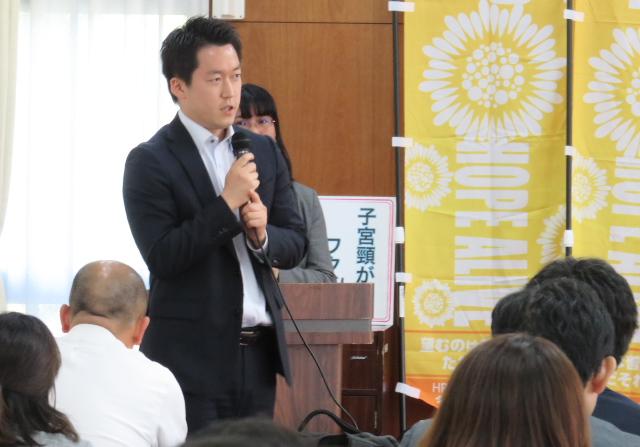 笹倉拓人弁護士(HPVワクチン薬害大阪弁護団)