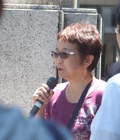 5月に沖縄で勉強会を開催して下さったわたなべゆうこさんによるリレートーク