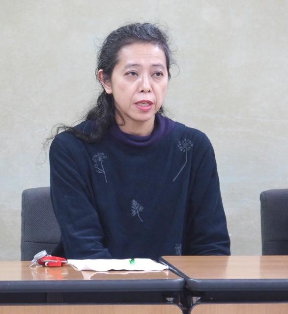 全国子宮頸がんワクチン薬害被害者連絡会の松藤美香代表