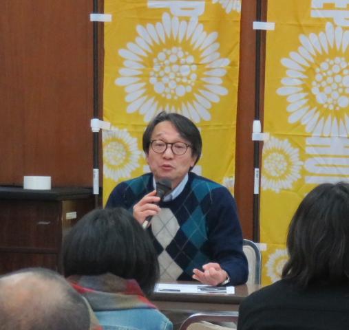 名古屋訴訟支援ネットワーク代表の長南謙一さん