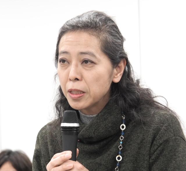 全国子宮頸がんワクチン被害者連絡会代表の松藤美香さん