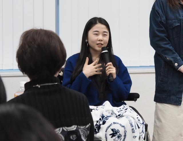 HPVワクチン薬害東京訴訟原告の久永奈央さん