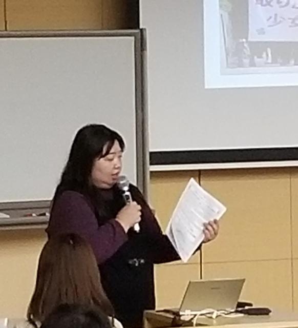 谷口鈴加HPVワクチン訴訟名古屋原告団代表(名古屋原告1番母)