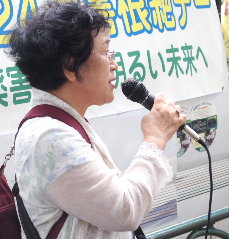 武田せい子さん(薬害肝炎全国原告団)