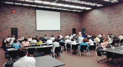 大阪弁護士会館内での報告集会