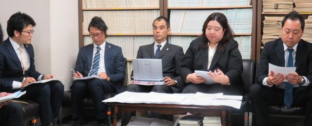 名古屋地裁記者クラブにおける会見